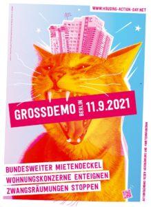 Großdemo in Berlin am 11.09.2021!!!
